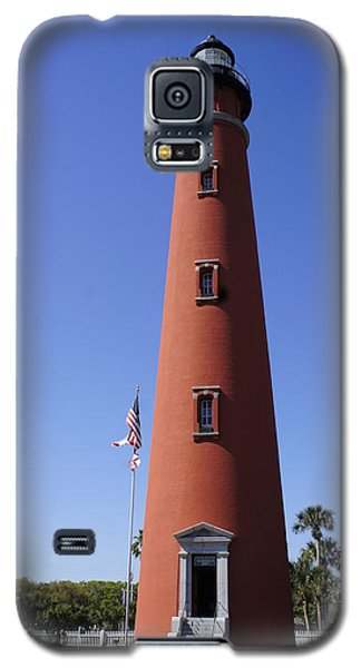 Galaxy S5 Case featuring the photograph Ponce Inlet Lighthouse by Laurie Perry