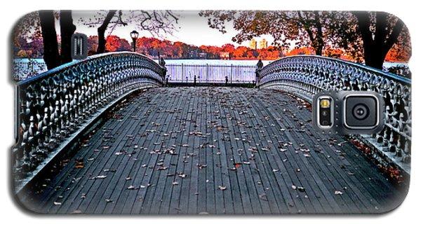 Pond Footbridge Galaxy S5 Case