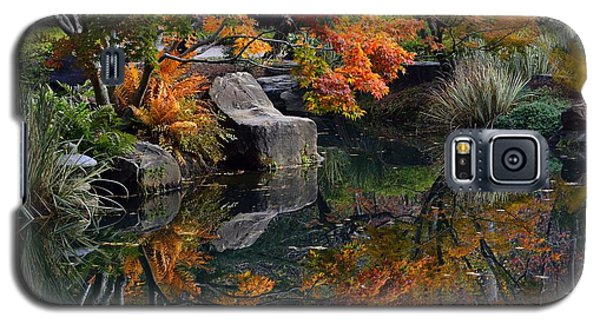 Galaxy S5 Case featuring the photograph Pond In Autumn by Lisa L Silva