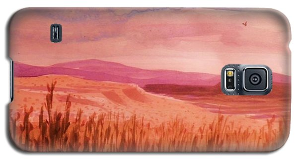 Pond In Drought Galaxy S5 Case by Suzanne McKay