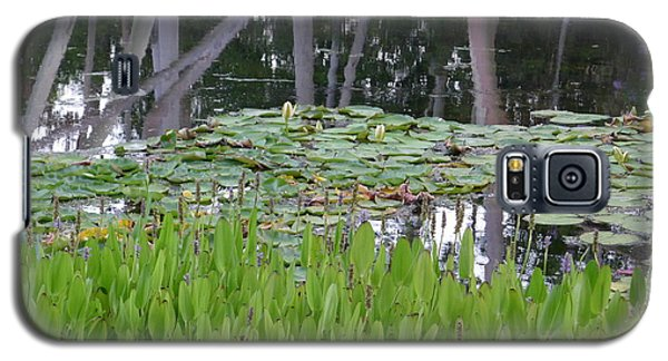 Galaxy S5 Case featuring the photograph Pond  by Nora Boghossian