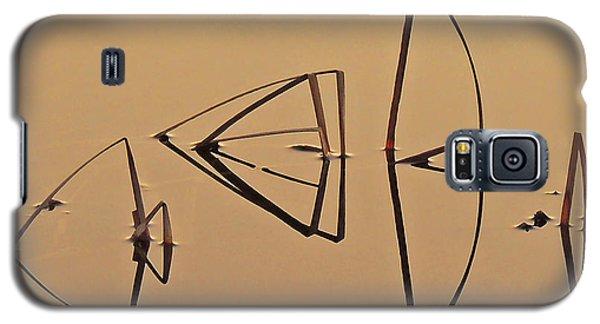 Pond Reeds Sunrise 1 Galaxy S5 Case