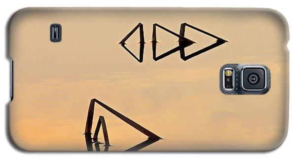 Pond Reeds Sunrise 2 Galaxy S5 Case
