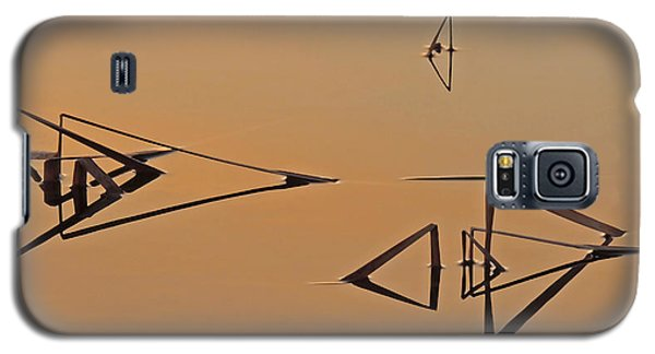 Pond Reeds Sunrise 3 Galaxy S5 Case