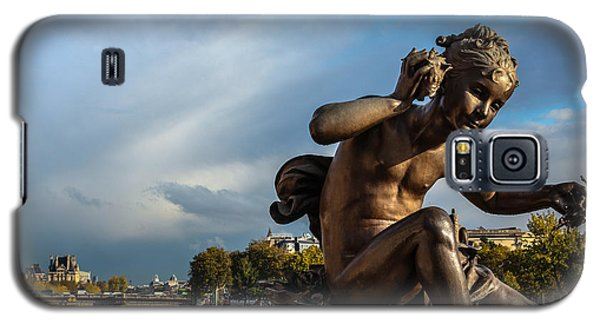 Galaxy S5 Case featuring the photograph Pont Alexandre IIi by Glenn DiPaola