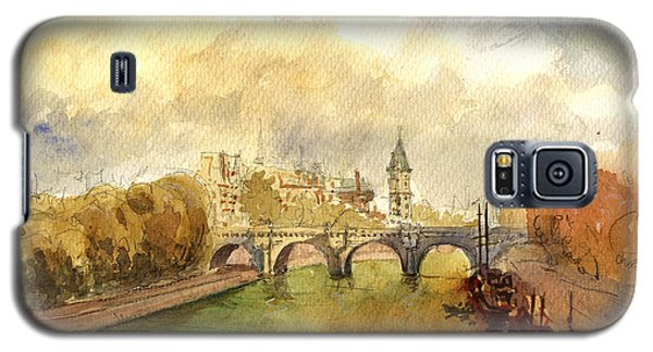 Ponte Neuf Paris Galaxy S5 Case by Juan  Bosco