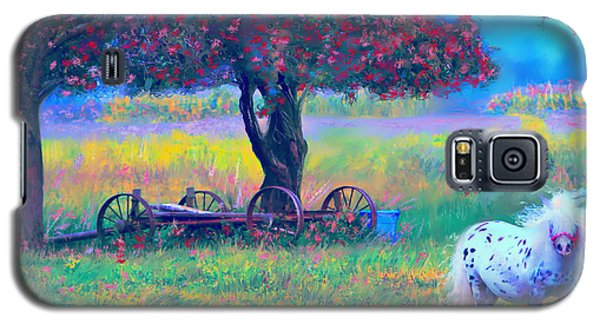 Pony In Pasture Galaxy S5 Case