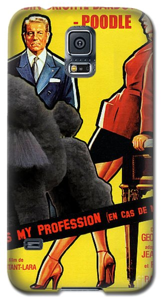 Poodle  Art - Love Is My Profession Galaxy S5 Case