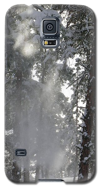 Galaxy S5 Case featuring the photograph Poof by Jennifer Lake