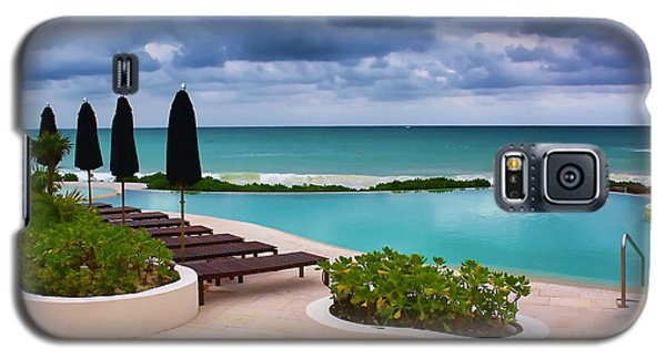 Galaxy S5 Case featuring the photograph Pool At Rosewood Mayakoba by Teresa Zieba