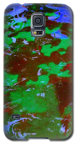 Poolwater Abstract Galaxy S5 Case by Deborah  Crew-Johnson
