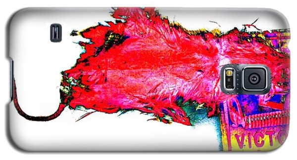 Pop Art Mousetrap Galaxy S5 Case by Marianne Dow
