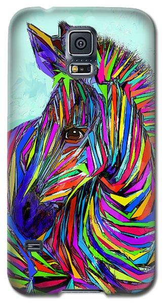 Pop Art Zebra Galaxy S5 Case