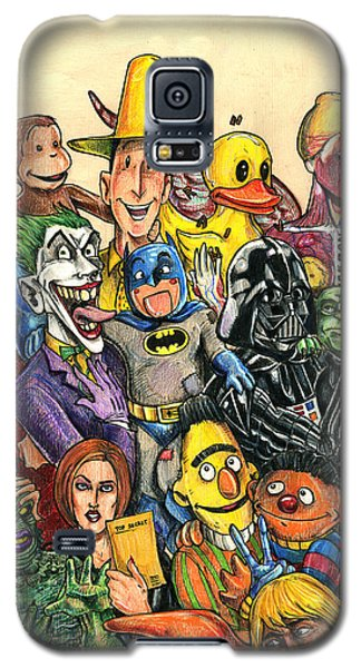 Pop Culture Ventriloquist Mashup Galaxy S5 Case