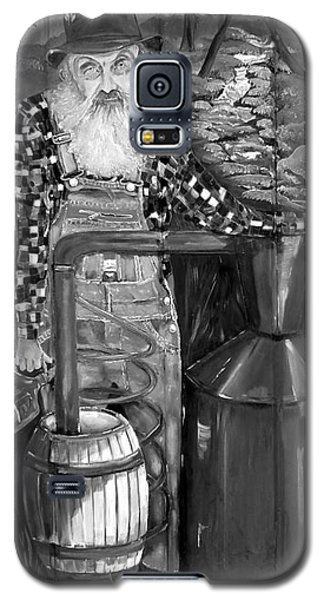 Popcorn Sutton - Black And White - Legendary Galaxy S5 Case