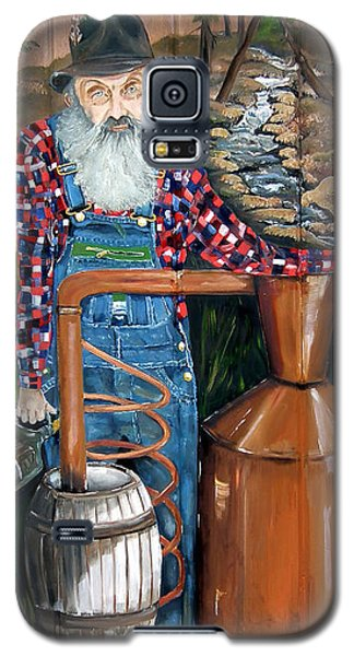 Popcorn Sutton - Moonshiner - Redneck Galaxy S5 Case