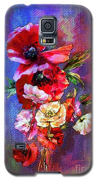 Poppies Galaxy S5 Case by Andrzej Szczerski
