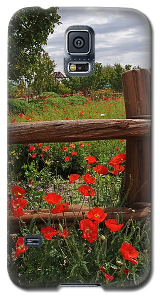 Poppies At The Farm Galaxy S5 Case