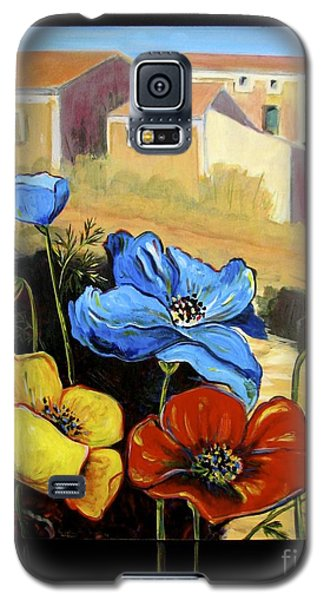 Poppies Citiscape Galaxy S5 Case