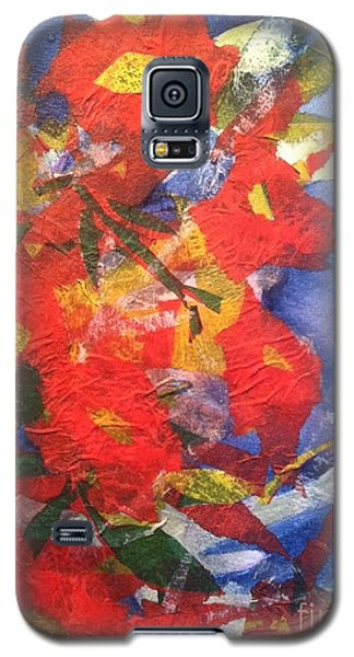 Poppies Gone Wild Galaxy S5 Case