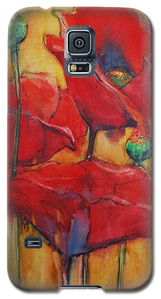 Poppies IIi Galaxy S5 Case by Jani Freimann
