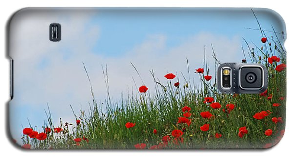 Poppies In A French Landscape Galaxy S5 Case