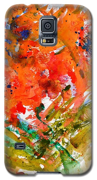 Poppies In A Hurricane Galaxy S5 Case