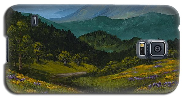 Poppies In Spring Galaxy S5 Case