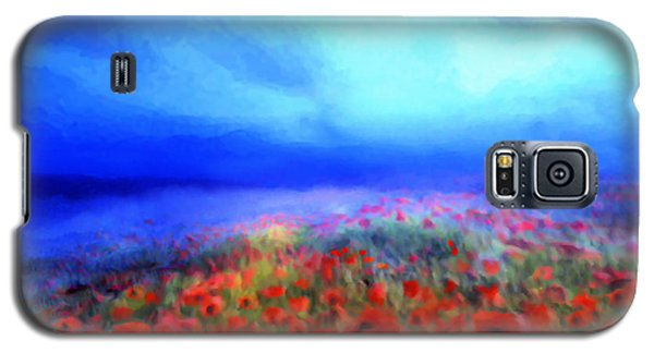 Poppies In The Mist Galaxy S5 Case