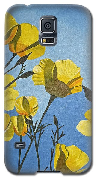 Poppies In The Sun Galaxy S5 Case