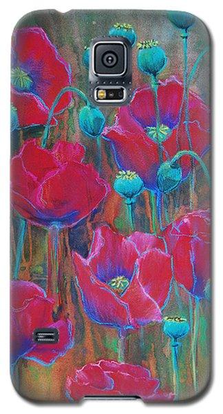 Poppies  Galaxy S5 Case by Jani Freimann