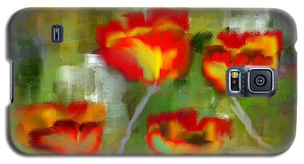 Poppies Galaxy S5 Case by Jessica Wright