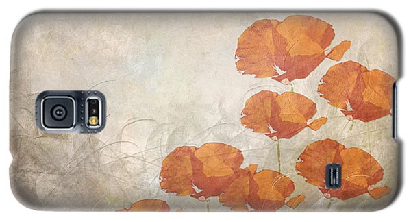 Poppies On A Foggy Morning Galaxy S5 Case