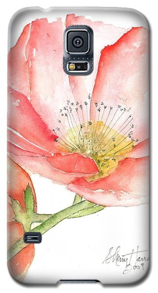 Poppy Bloom Galaxy S5 Case