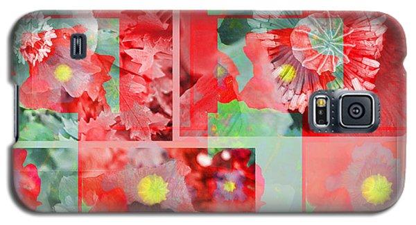 Poppy Collage Galaxy S5 Case