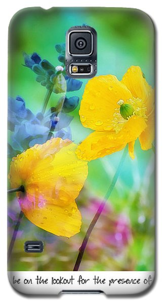 Poppy Dance Galaxy S5 Case by Marion McCristall