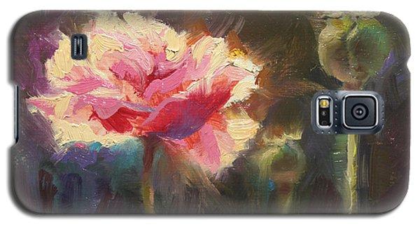 Poppy Glow Galaxy S5 Case by Karen Whitworth