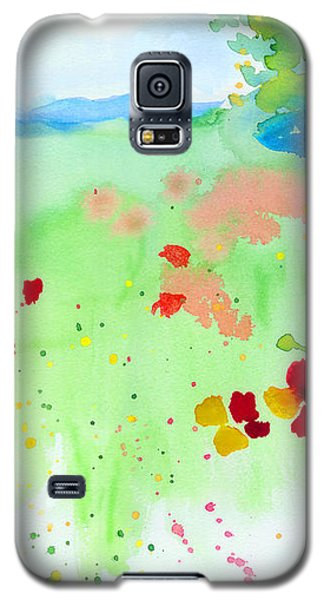 Poppy Passion Galaxy S5 Case