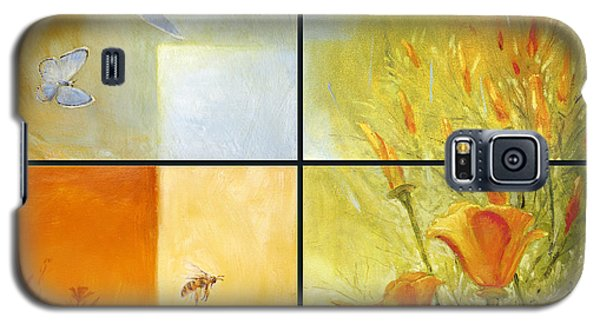 Poppy Pollination Galaxy S5 Case