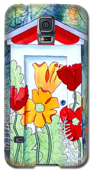 Poppy Potty Galaxy S5 Case by Teresa Ascone