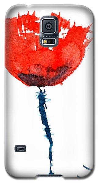 Poppy Galaxy S5 Case by Zaira Dzhaubaeva