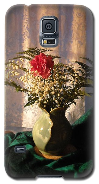 Porcelain Petal Vase 4 In Still Life Galaxy S5 Case