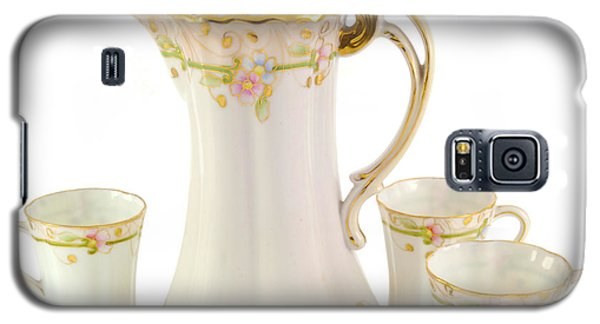 Porcelain Pitcher And Cups Galaxy S5 Case