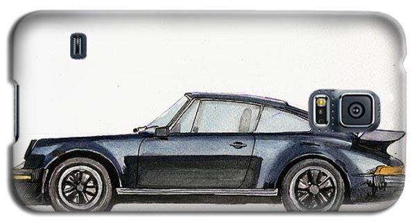 Watercolor Galaxy S5 Case - Porsche 911 930 Turbo by Juan  Bosco