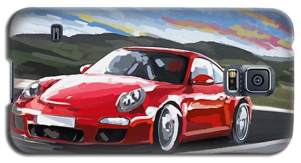 Porsche 911 Gt3 Impressionist Galaxy S5 Case by Tim Gilliland