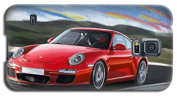 Porsche 911 Gt3 Galaxy S5 Case