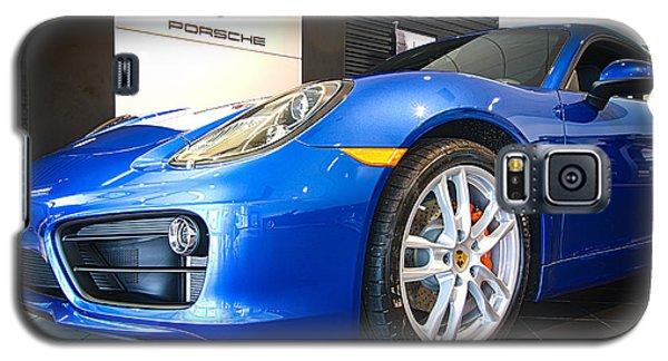 Porsche Cayman S In Sapphire Blue Galaxy S5 Case