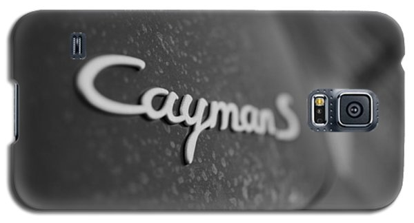 Standing Porsche Cayman S Galaxy S5 Case by Miguel Winterpacht