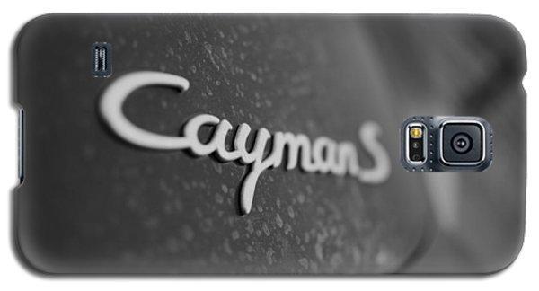 Standing Porsche Cayman S Galaxy S5 Case