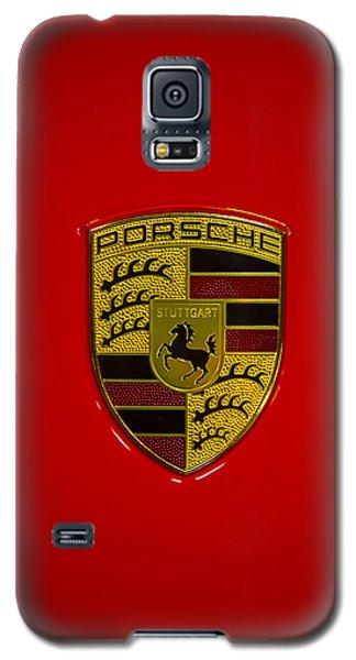 Porsche Emblem Red Hood Galaxy S5 Case